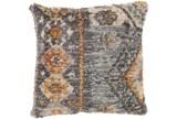 Accent Pillow-Shaggy Southwest Blue 20X20 - Signature