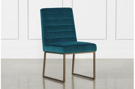 Celler Teal Side Chair