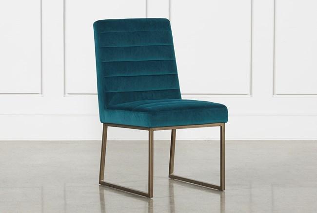 Celler Teal Side Chair - 360