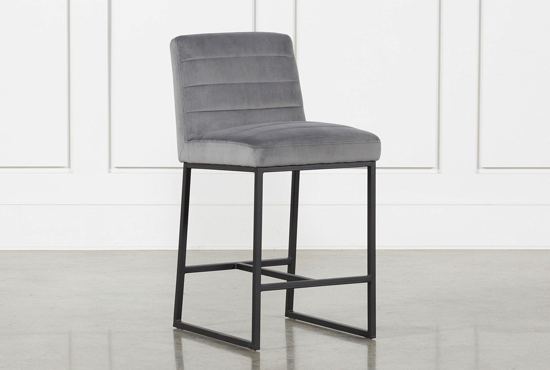 Celler Grey 26 Inch Counter Stool Living Spaces