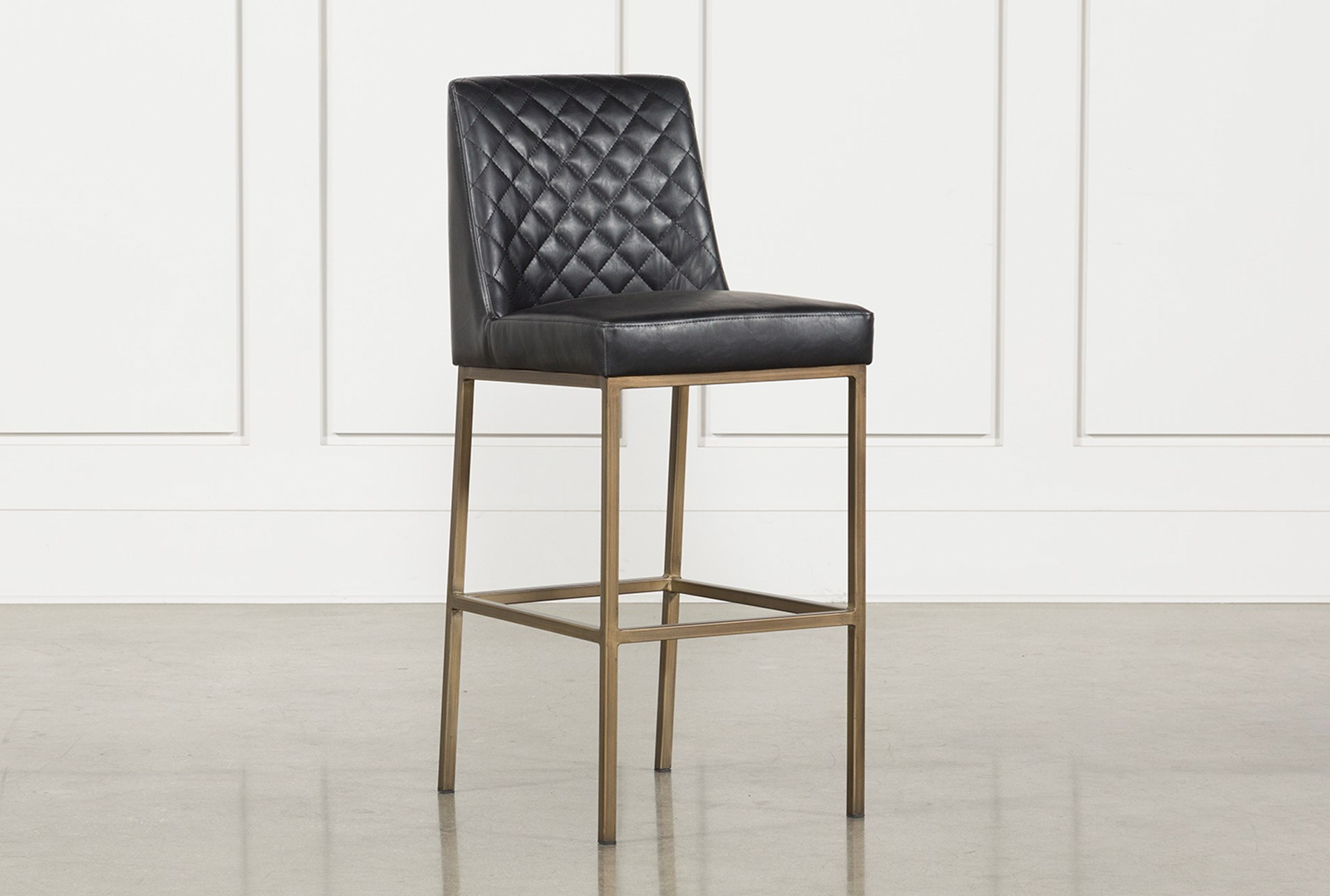 Dom 30 Inch Barstool Living Spaces