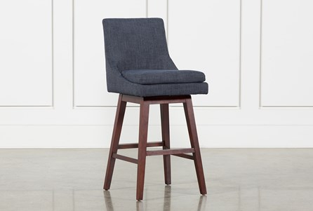 Noma Swivel 30 Inch Bar Stool