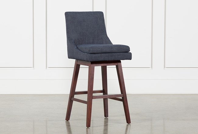 Noma Swivel 30 Inch Barstool Living Spaces