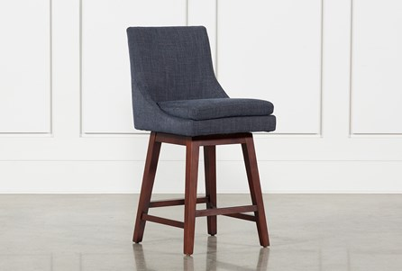 Noma Swivel 26 Inch Counter Stool