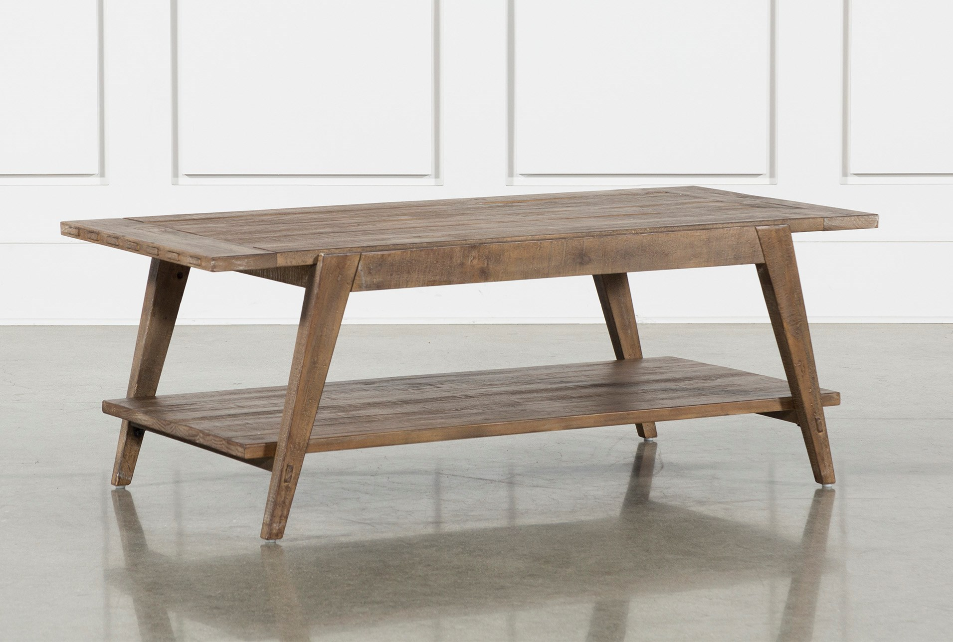 Craftsman Coffee Table Living Spaces