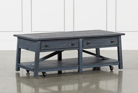 Ontario Coffee Table With Casters