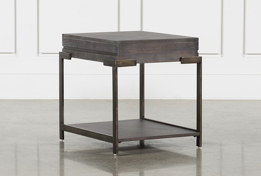 Novak Rectangle End Table