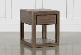 Lassen Rectangle End Table