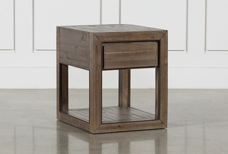 Lassen Rectangle End Table