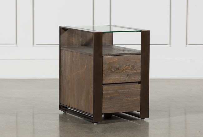 Lassen Chairside End Table - 360