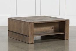 Lassen Square Lift-Top Coffee Table
