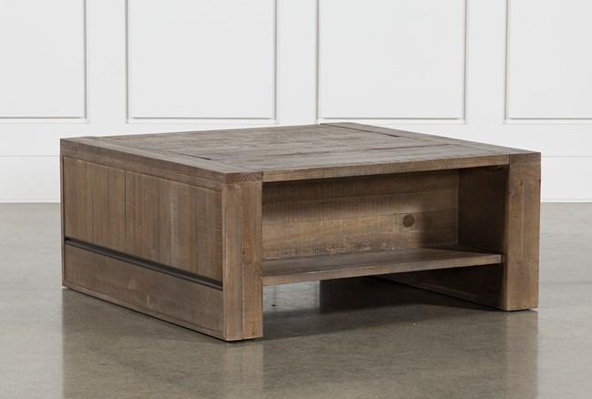 Lassen Square Lift-Top Coffee Table - 360