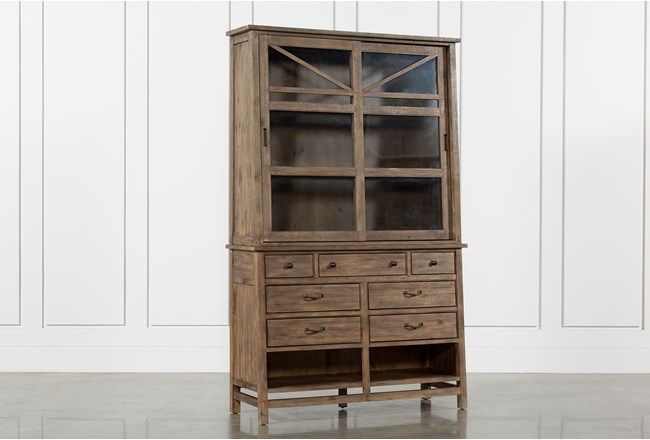 Craftsman Server/Hutch - 360