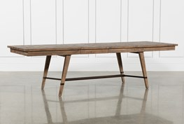 CRAFTSMAN RECTANGLE EXTENSION DINING TABLE