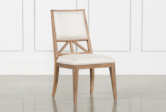 Craftsman Upholstered Side Chair - 360