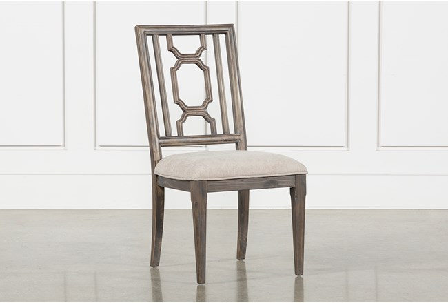 Laurent Wood Side Chair - 360