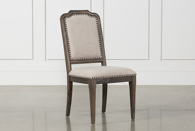Laurent Upholstered Side Chair - 360