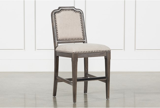 Laurent Upholstered Counter Stool - 360