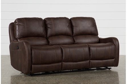 Davor Brown Power Reclining Sofa - Main
