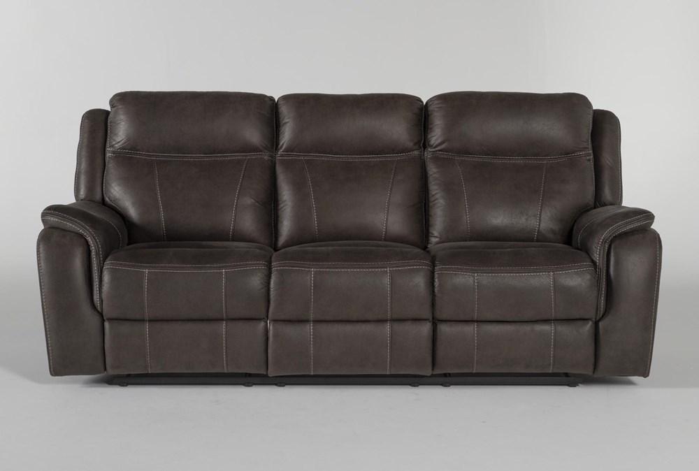 "Griffin Grey 87"" Power Reclining Sofa"