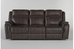 "Griffin Grey 87"" Power Reclining Sofa"