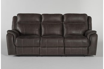 Griffin Grey Power Reclining Sofa