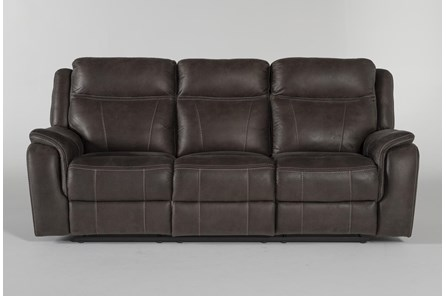 Griffin Grey Power Reclining Sofa - Main