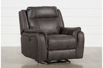 Griffin Grey Power Recliner