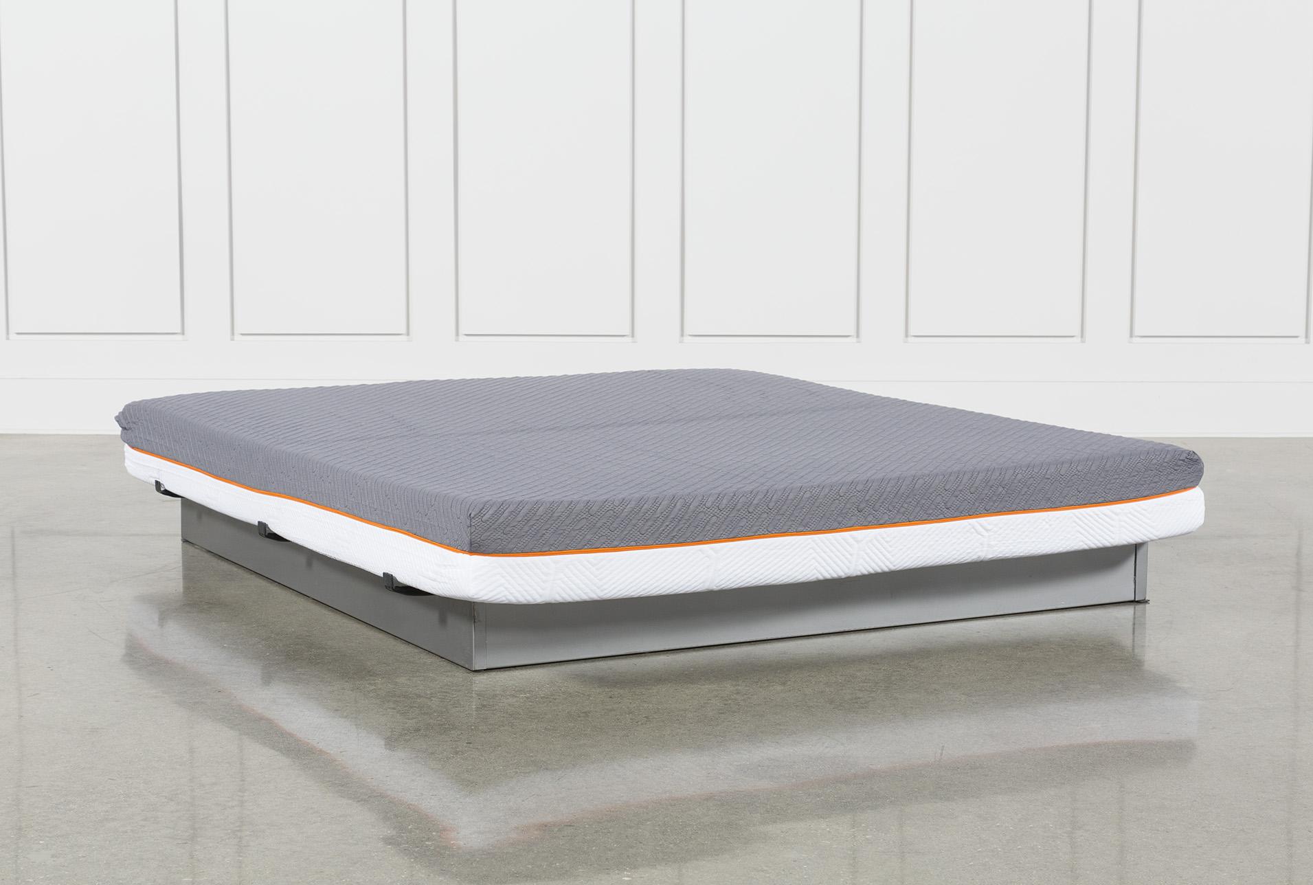 California king mattress Frame Living Spaces Inch Flipable California King Mattress Living Spaces