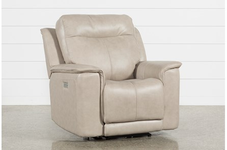 Walsh Dove Power Recliner W/Power Headrest, Lumbar & Usb - Main