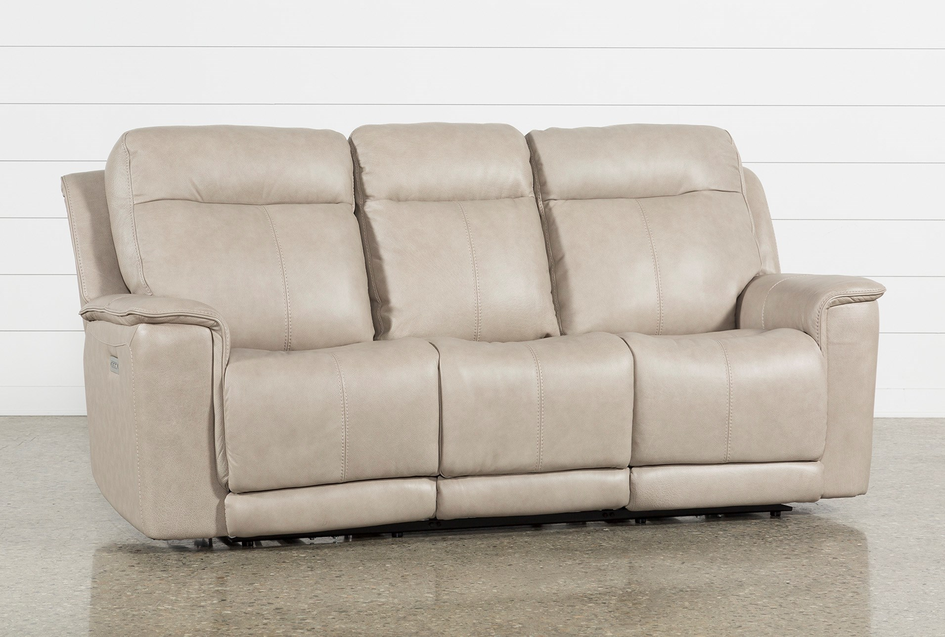 Walsh dove power reclining sofa w power headrest lumbar usb qty 1 has been successfully added to your cart