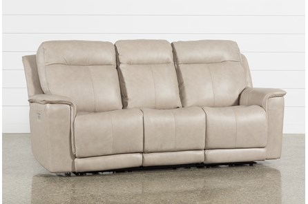 Walsh Dove Power Reclining Sofa W/Power Headrest, Lumbar & Usb - Main
