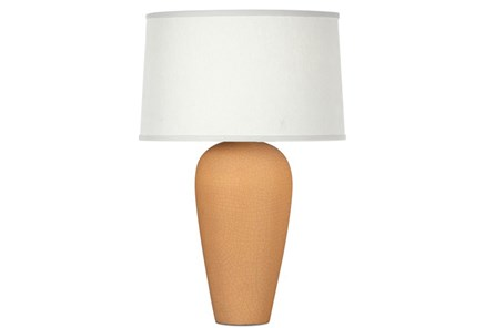 Table Lamp-Matte Honey Crackle