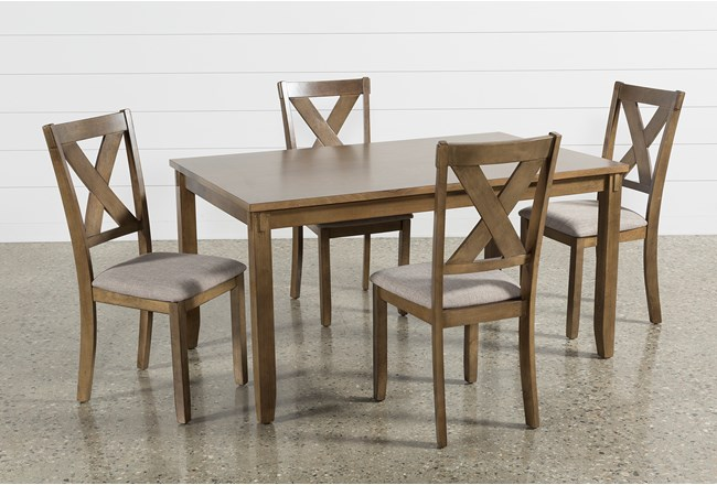 Kirsten 5 Piece Dining Set Living Spaces