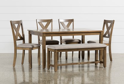 Incredible Kirsten 6 Piece Dining Set Evergreenethics Interior Chair Design Evergreenethicsorg