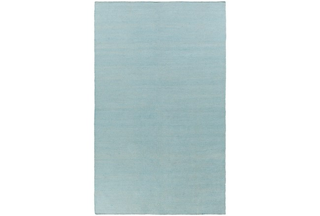 60X90 Outdoor Rug-Recycled Pet Herringbone Blue - 360