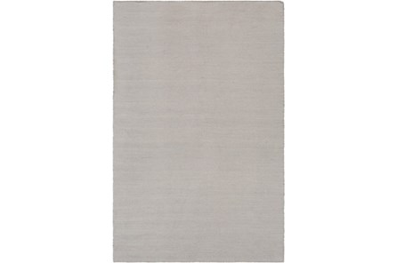 24X36 Outdoor Rug-Recycled Pet Herringbone Grey