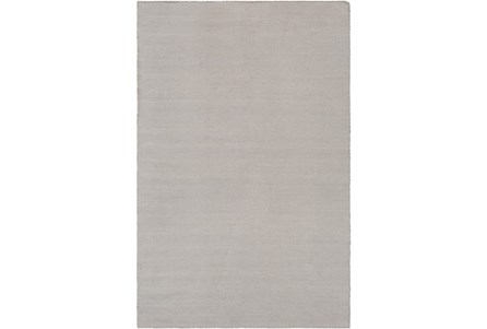 96X120 Outdoor Rug-Recycled Pet Herringbone Grey