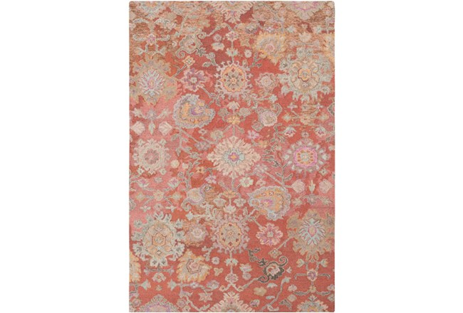 24X36 Rug-Centonze Traditional Coral - 360