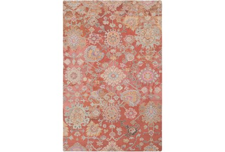 60X90 Rug-Centonze Traditional Coral