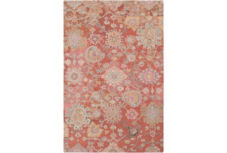 96X120 Rug-Centonze Traditional Coral