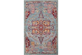 24X36 Rug-Centonze Traditional Red And Blue