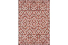 24X36 Outdoor Rug-Regal Ikat Orange