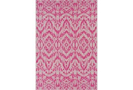 24X36 Outdoor Rug-Regal Ikat Bright Pink