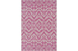 63X90 Outdoor Rug-Regal Ikat Bright Pink