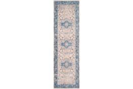 31X108 Rug-Tasha Traditional Blue