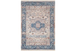 47X67 Rug-Tasha Traditional Blue
