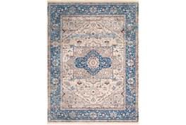 94X123 Rug-Tasha Traditional Blue