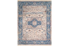 108X154 Rug-Tasha Traditional Blue