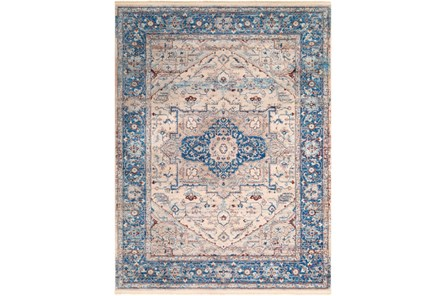 108X154 Rug-Tasha Traditional Blue